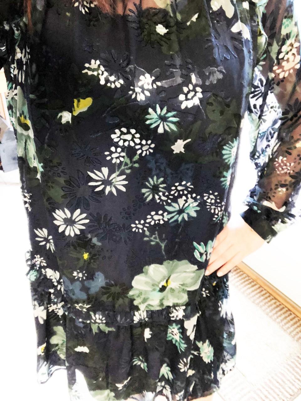 Winter Garden Flounce Dress 13