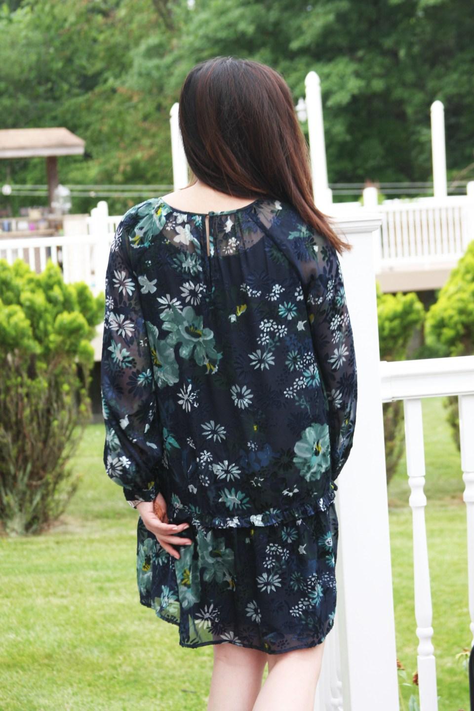 Winter Garden Flounce Dress 2