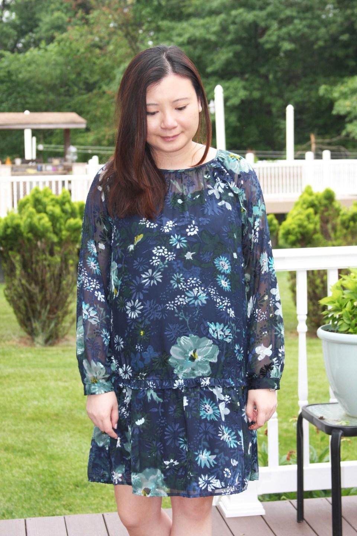 Winter Garden Flounce Dress 9
