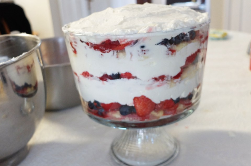 Berry Trifle 7