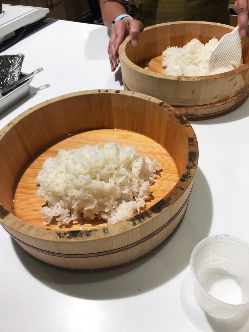 ABC Cooking Studio - sushi rice