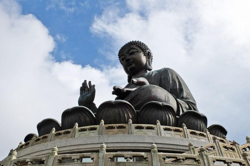 Big Buddha - Lantau Island 6