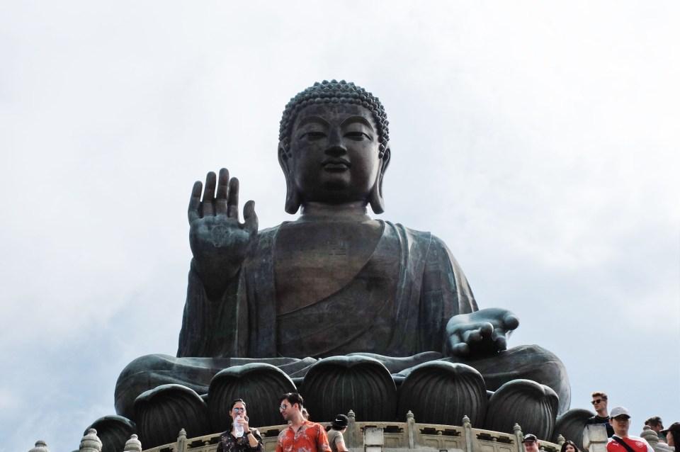 Big Buddha - Lantau Island 8