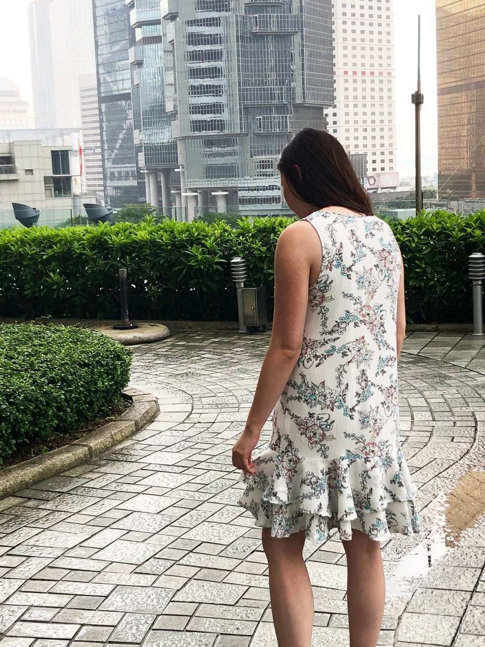 Floral Flounce Dress 1