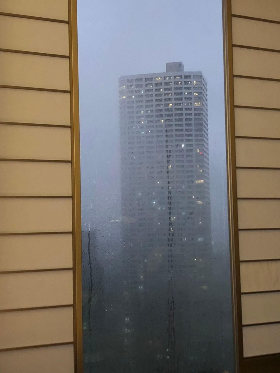 Hilton Tokyo - Typhoon Shanshan