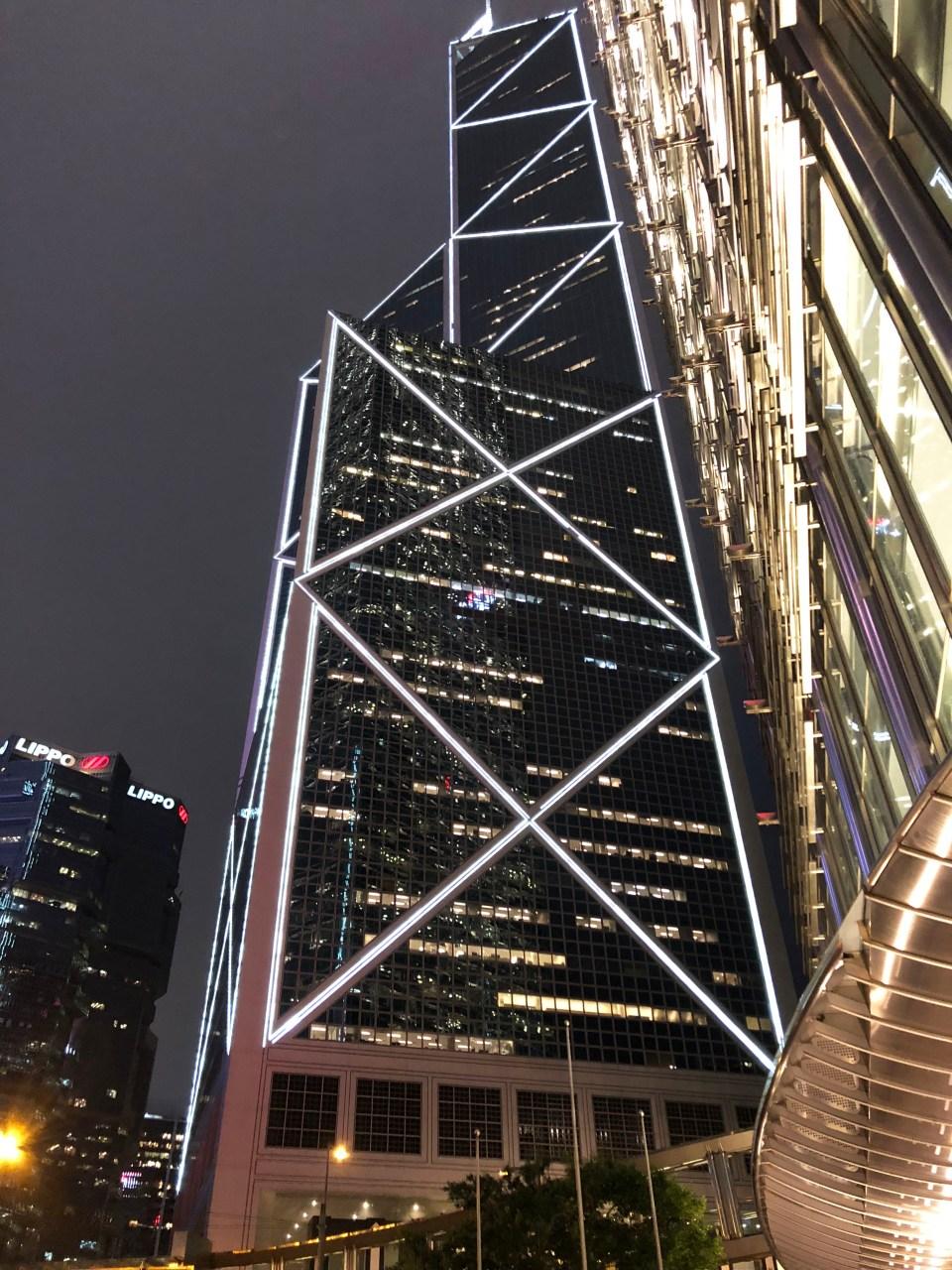 Hong Kong - Bank of China building