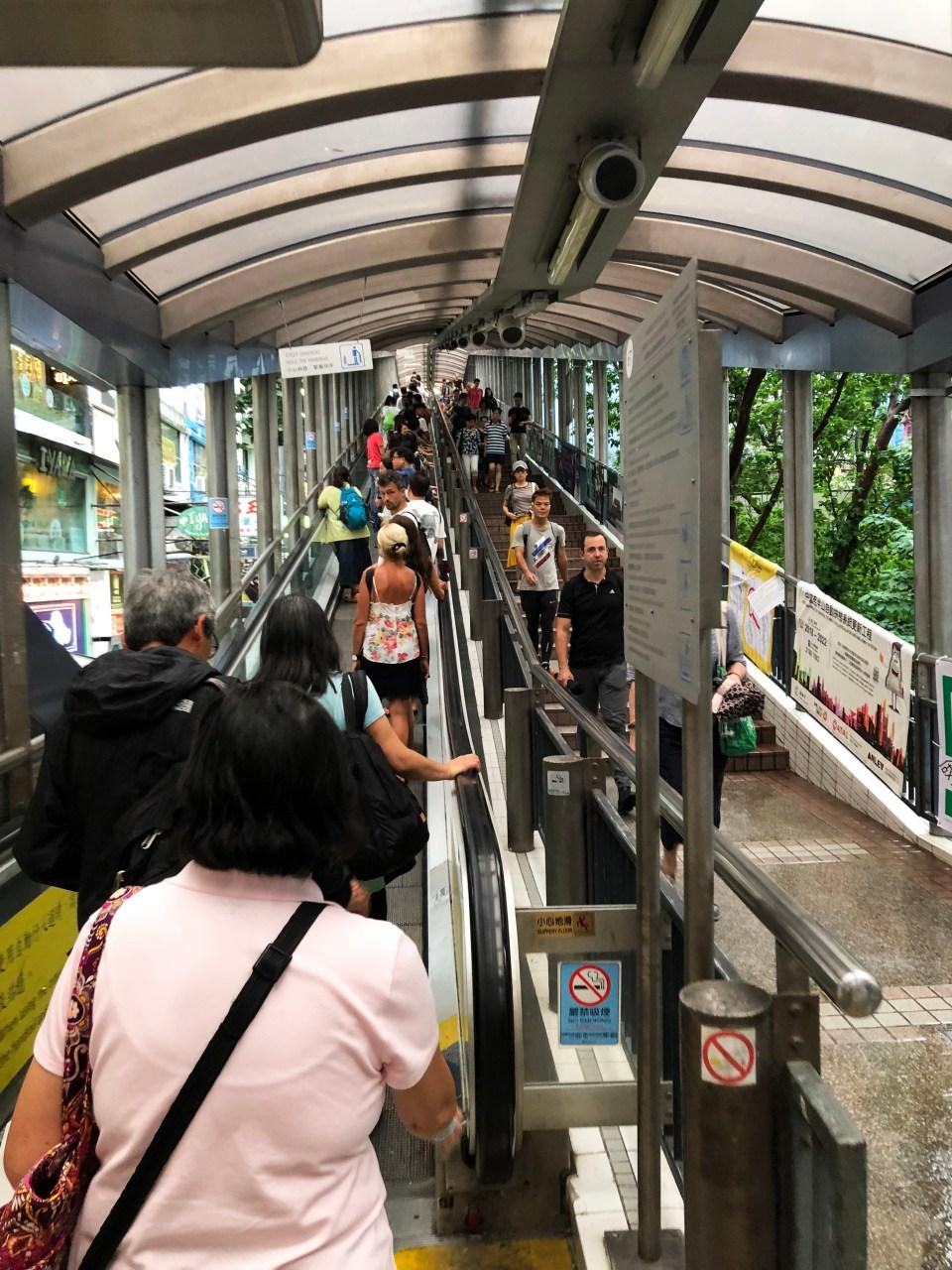 Hong Kong - Central Escalators 1