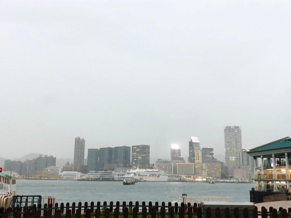 Hong Kong - harbor 1
