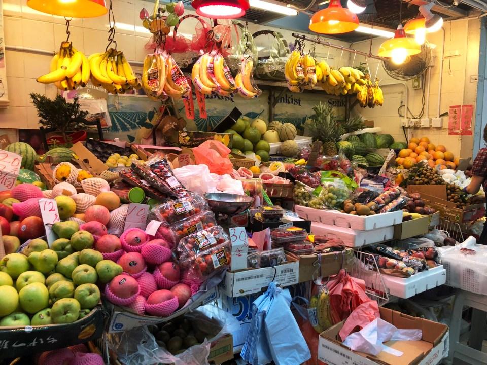 Hong Kong - market 1