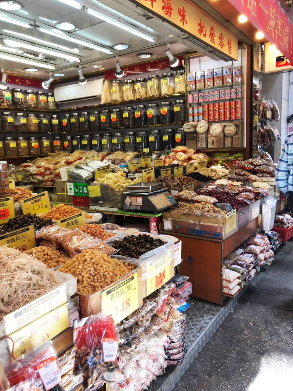 Hong Kong - market