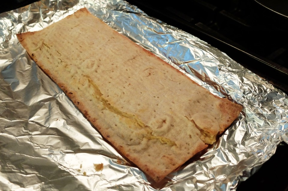 Hummus Flatbread Sandwich 4