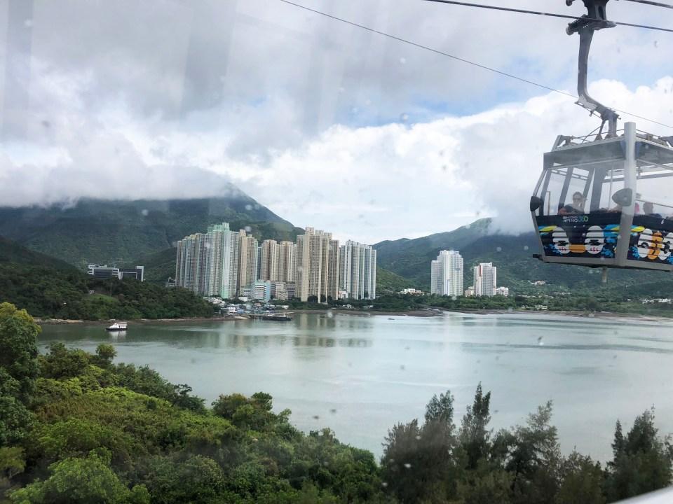 Lantau Island - Gondola 1