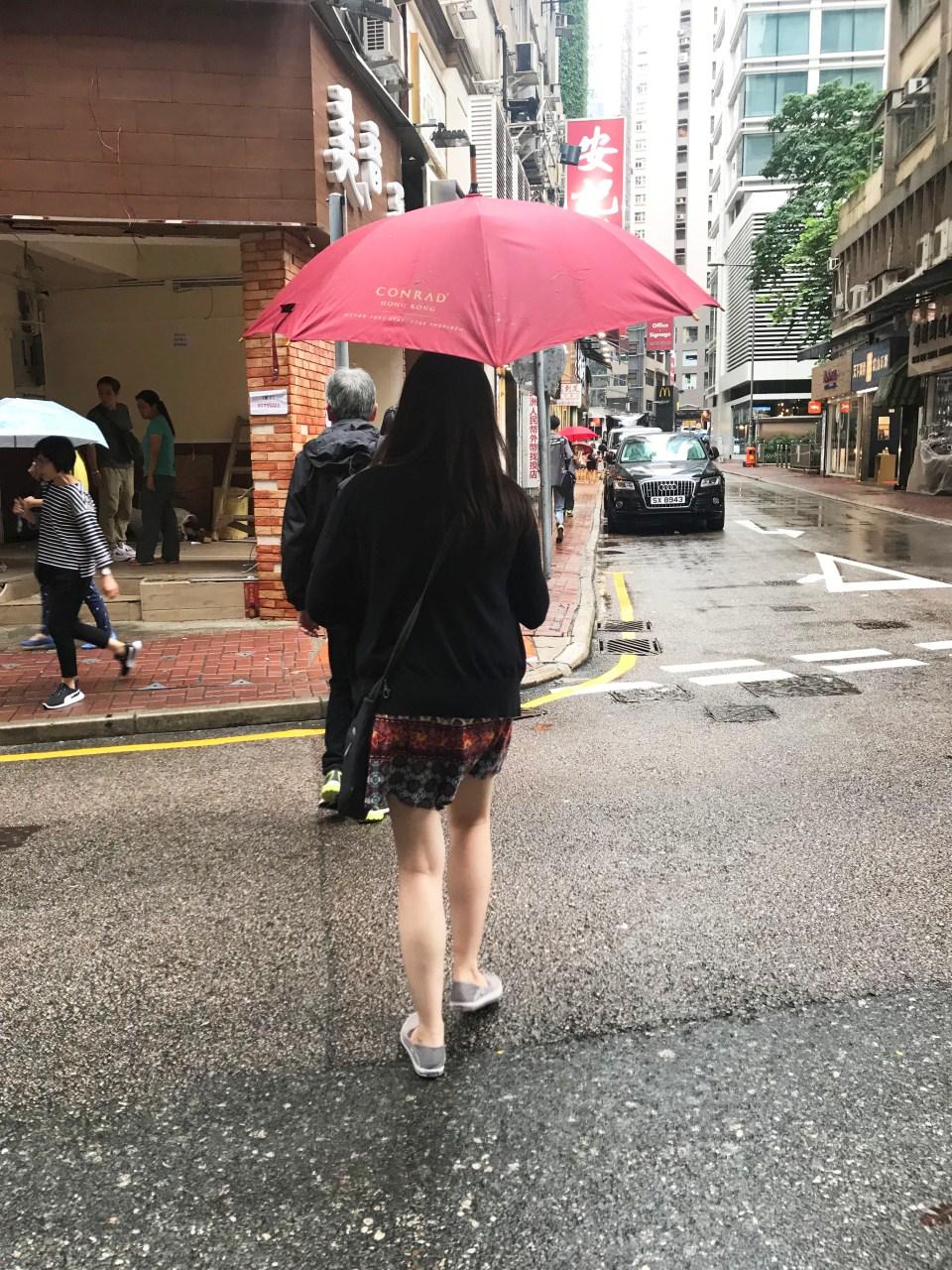 Rainy Hong Kong 1