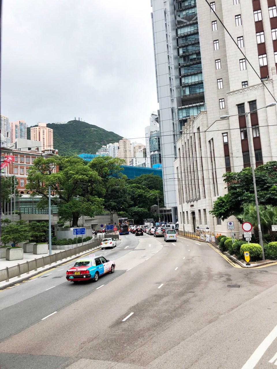 Riding Hong Kong Tram