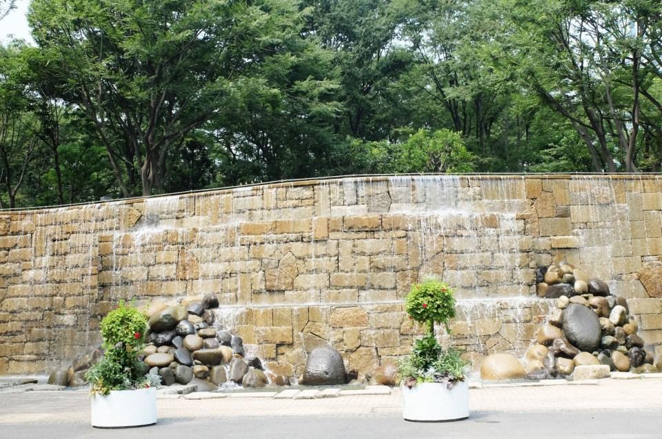 Shinkjuku Central Park - Waterfall