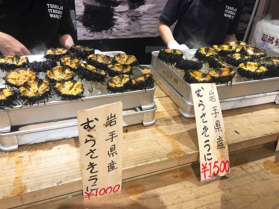 Tsukij Market - Sea Urchin