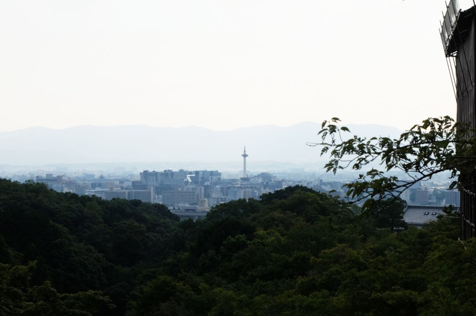 View from Kiyomizu Temple
