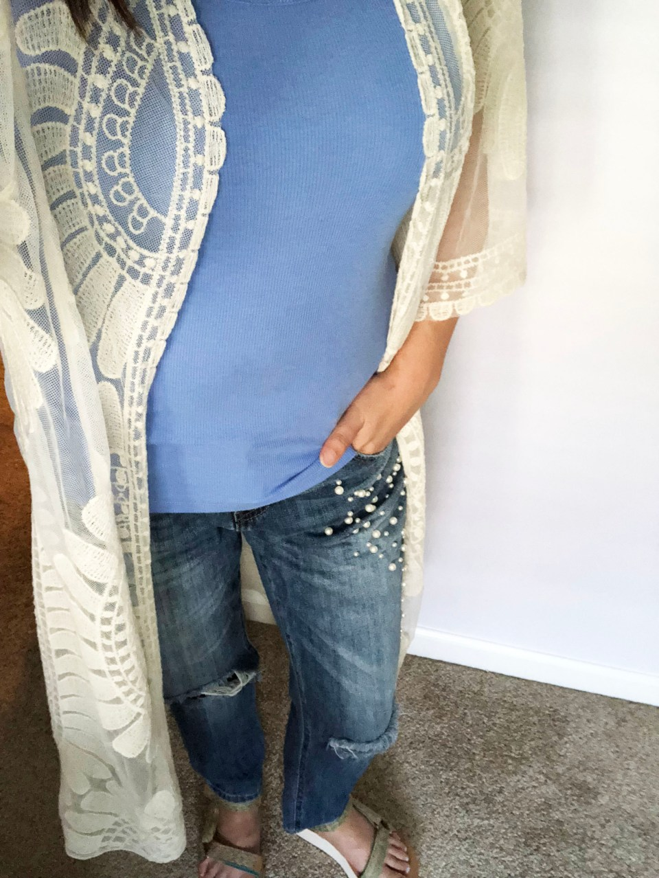 Sheer Detailed Kimono 14