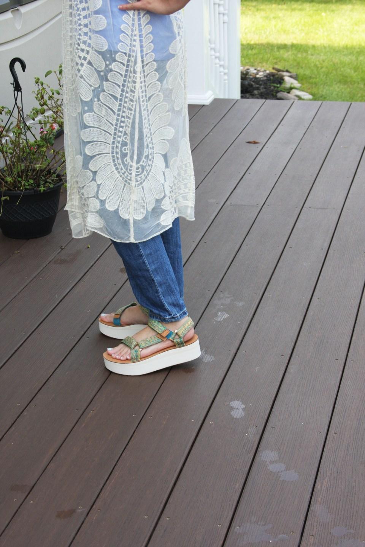 Sheer Detailed Kimono 6