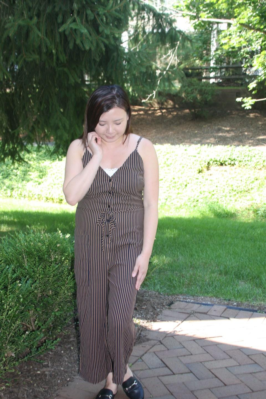 Striped Jumpsuit 7