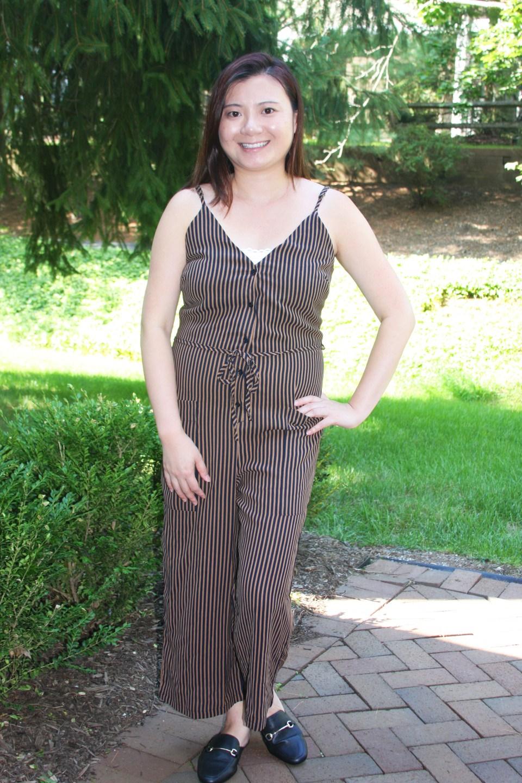 Striped Jumpsuit 9