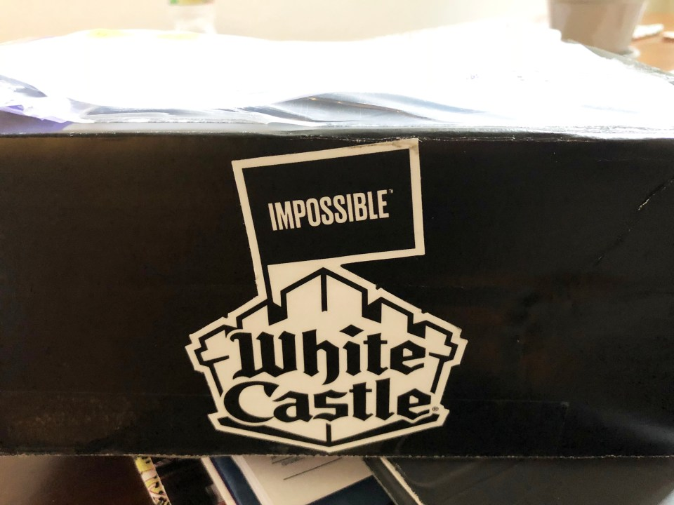 White Castle Impossible Burger