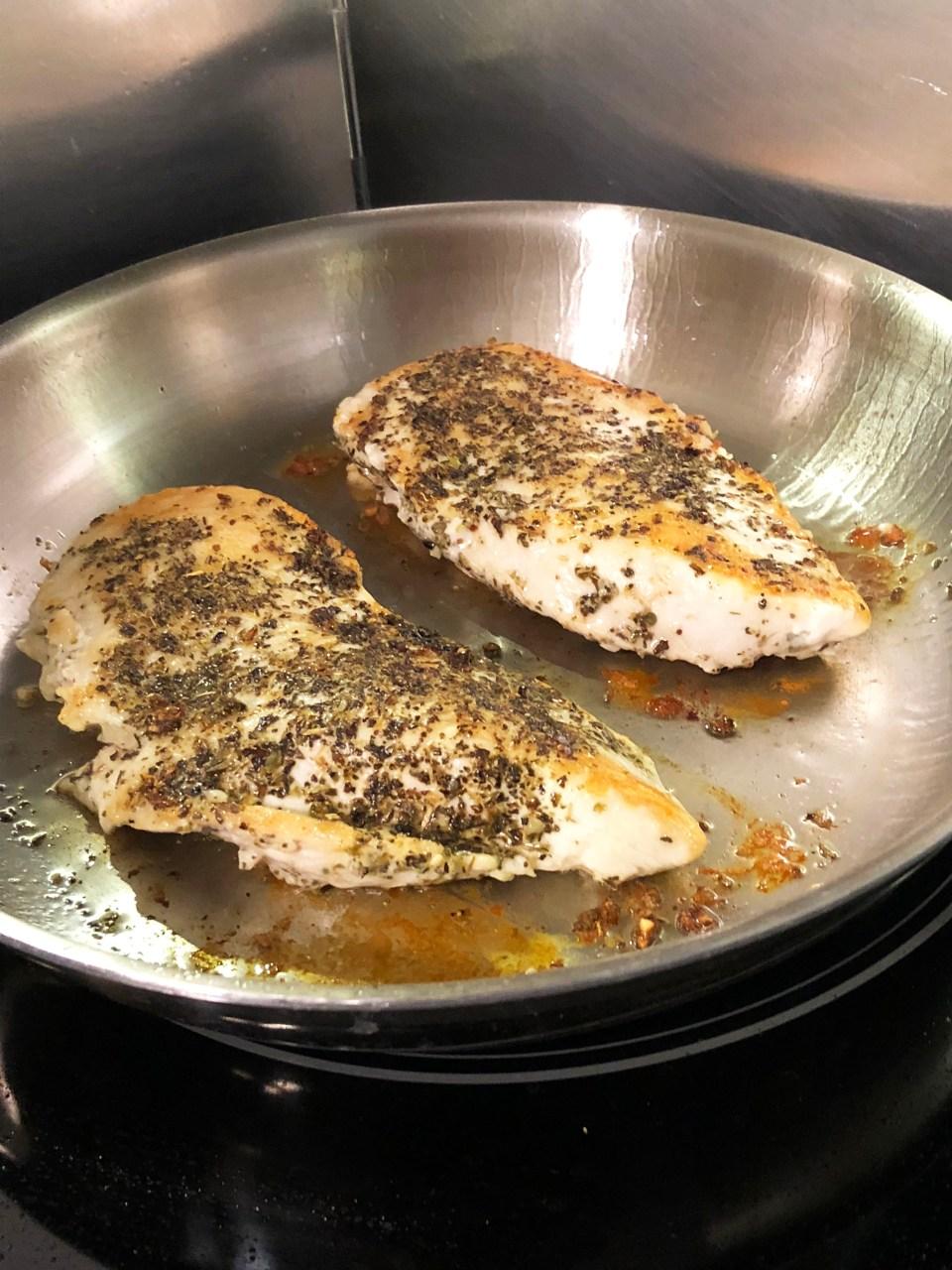 Bruschetta Chicken 1
