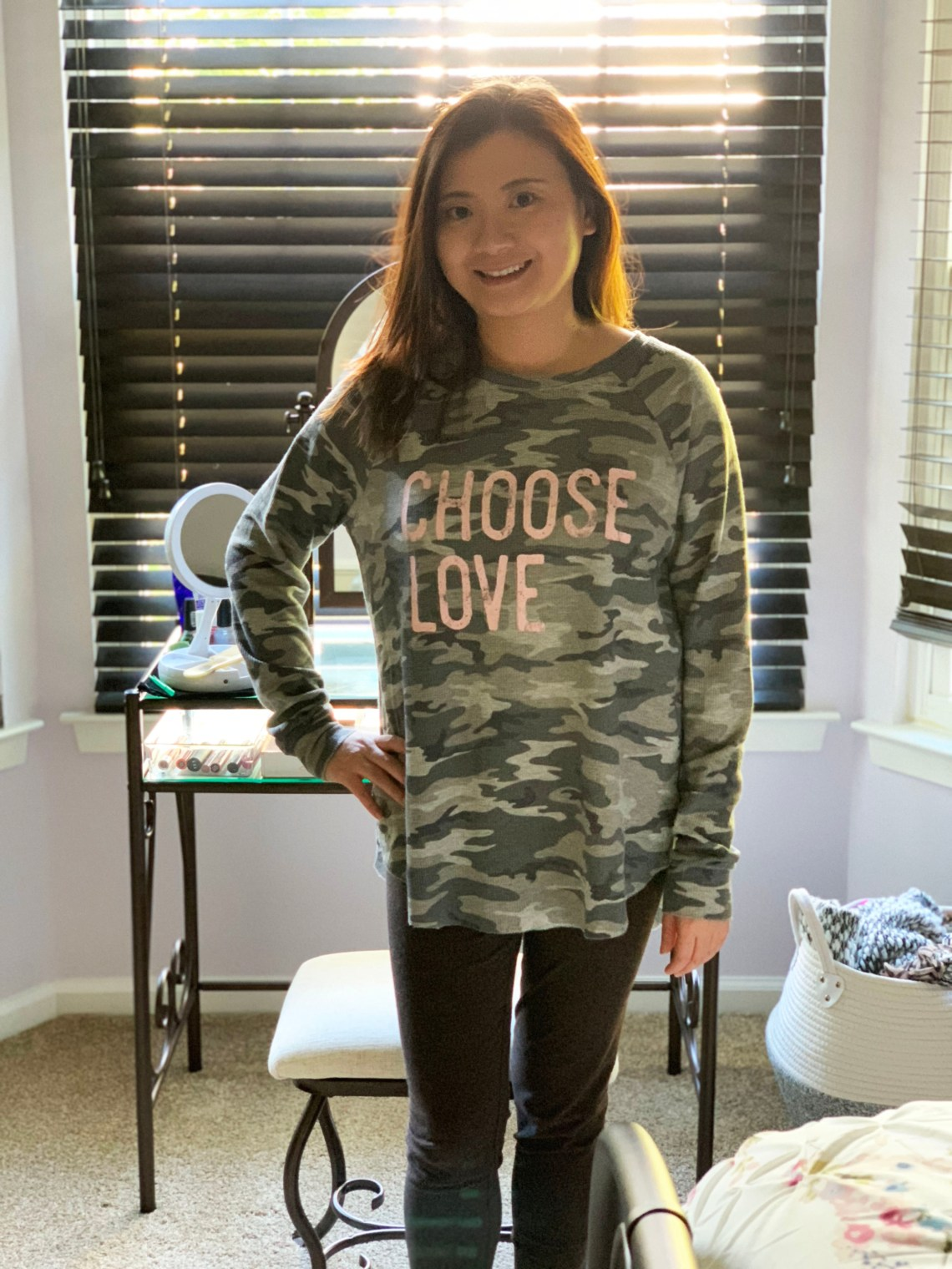 Choose Love Camo Thermal