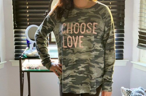 Choose Love Camo Thermal
