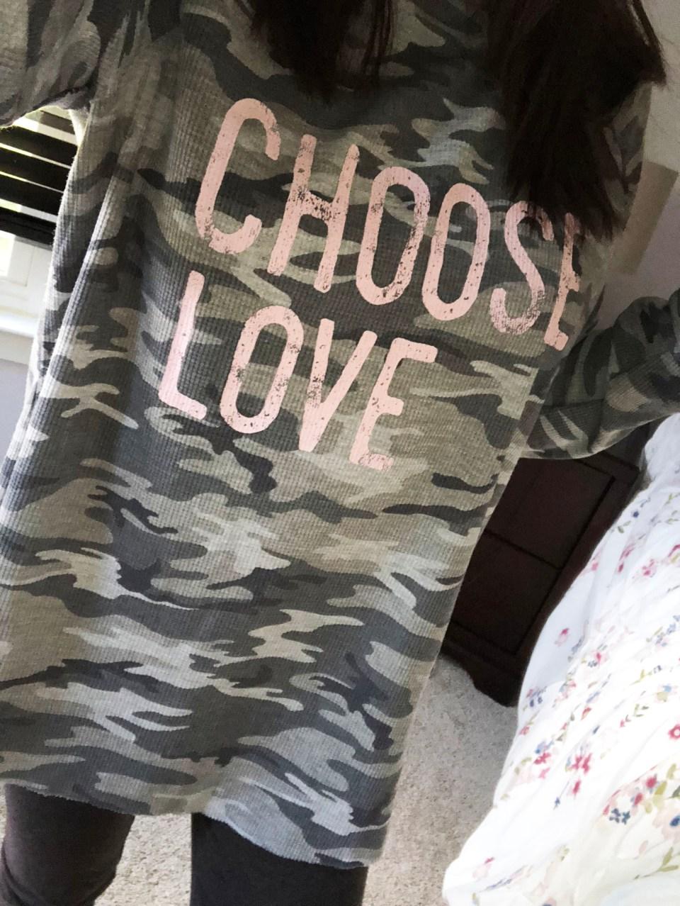 Choose Love Camo Thermal 9