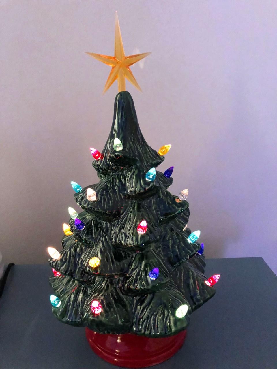 Ceramic Vintage Christmas Tree 5