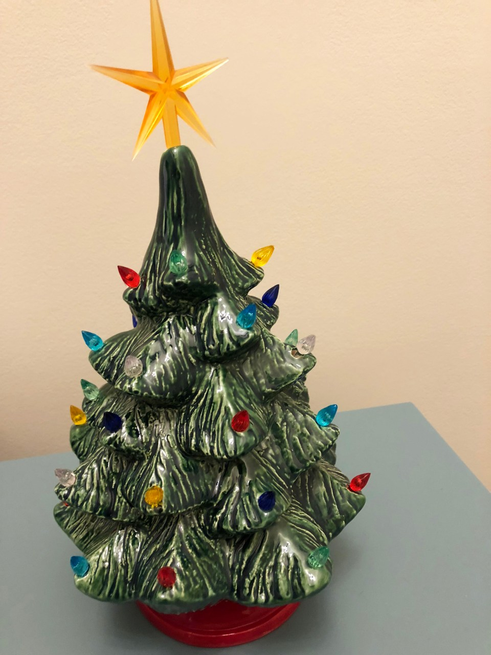 Ceramic Vintage Christmas Tree