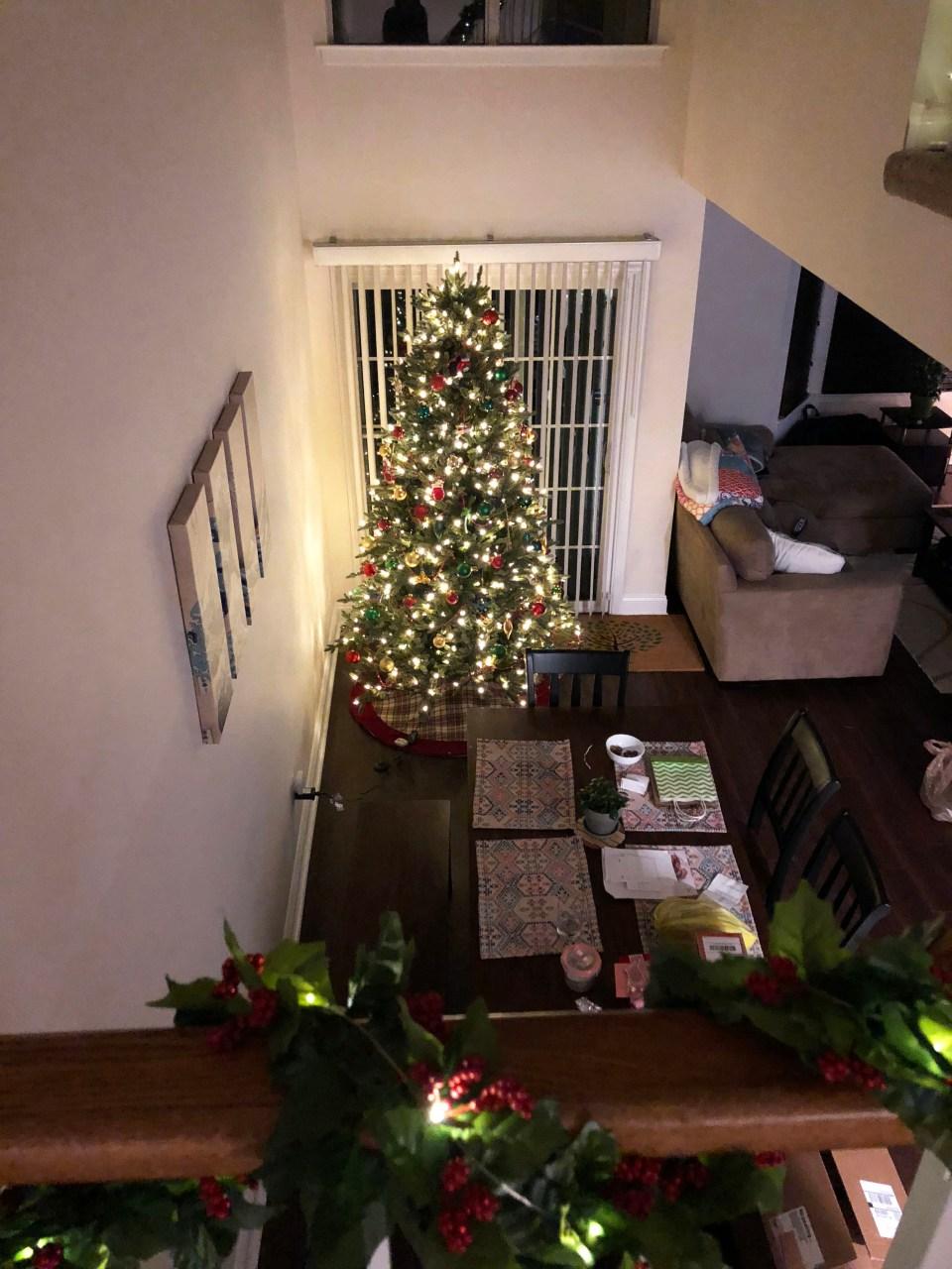 Christmas Tree - Nighttime 3