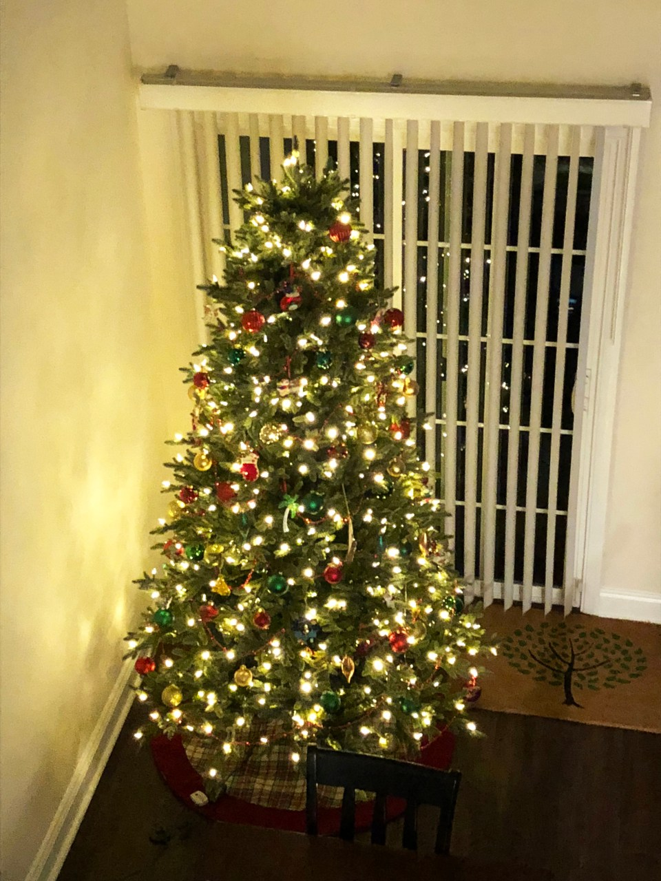 Christmas Tree - Nighttime 4
