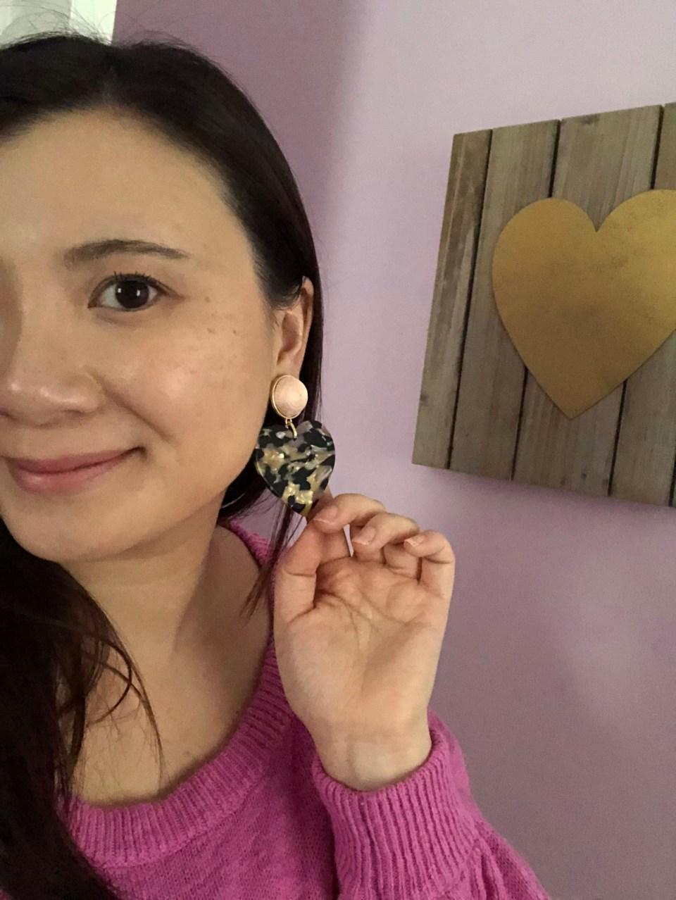 Gigi Resin Drop Earrings 4