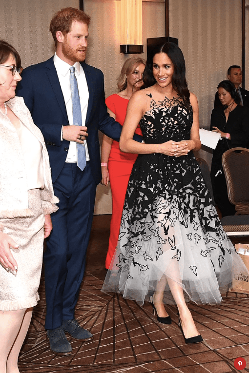 Meghan Markle - Australian Geographic Society