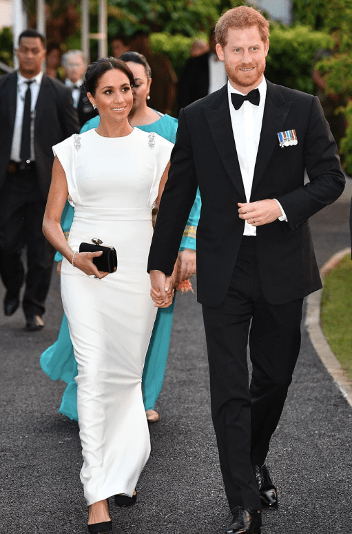 Meghan Markle - Tonga Reception