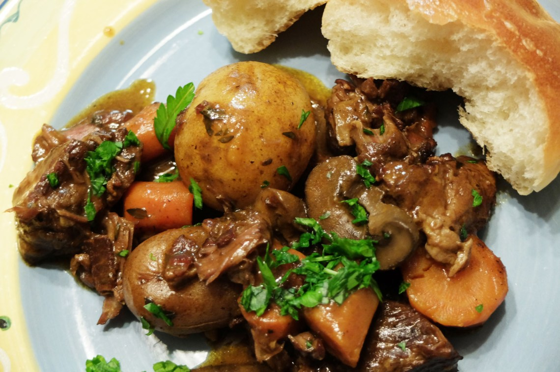 Slow Cooker Boeuf Bourguignon