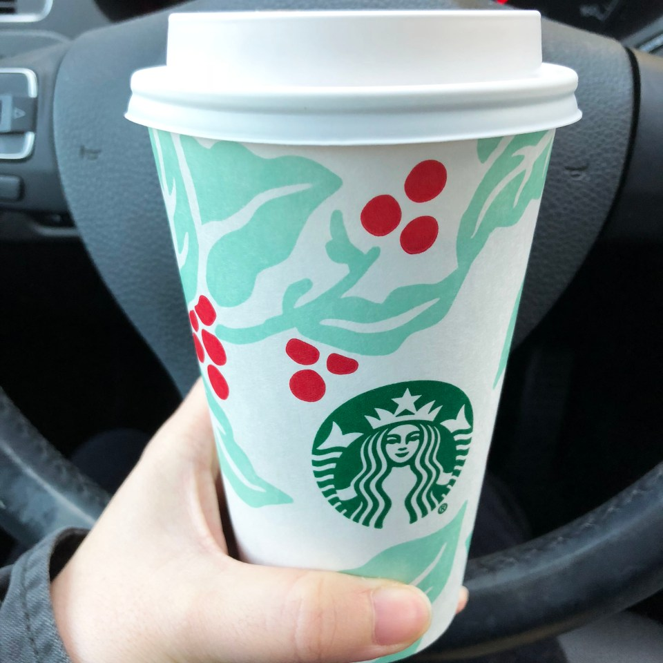 Starbucks holiday cup 1