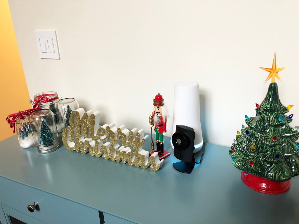 Buffet Table - Christmas Decorations 2