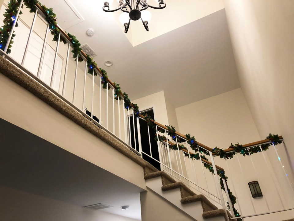Christmas Garland + Lights 8