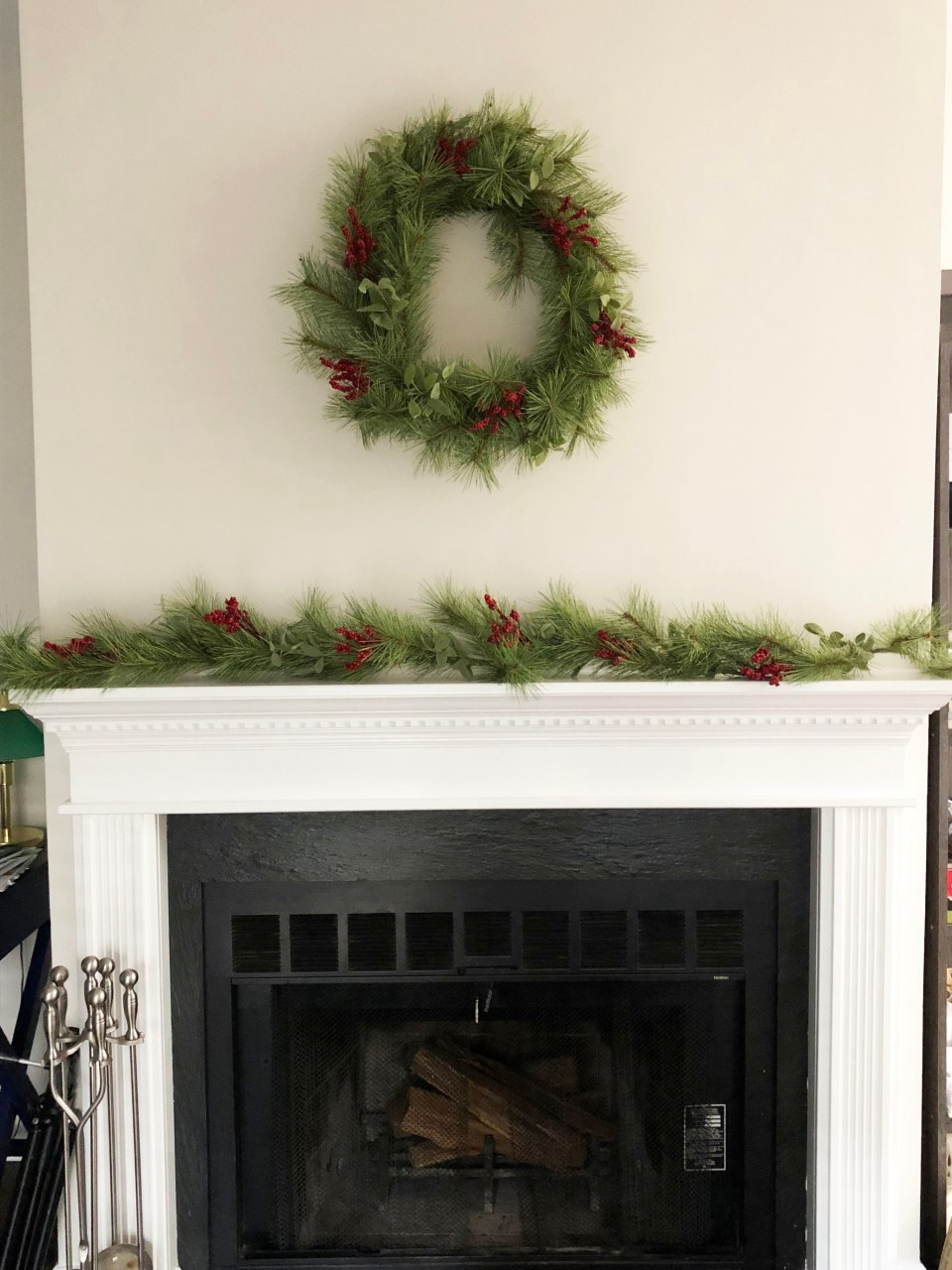 Christmas Mantel