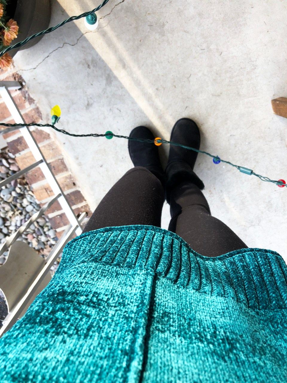 Green Chenille Sweater 12