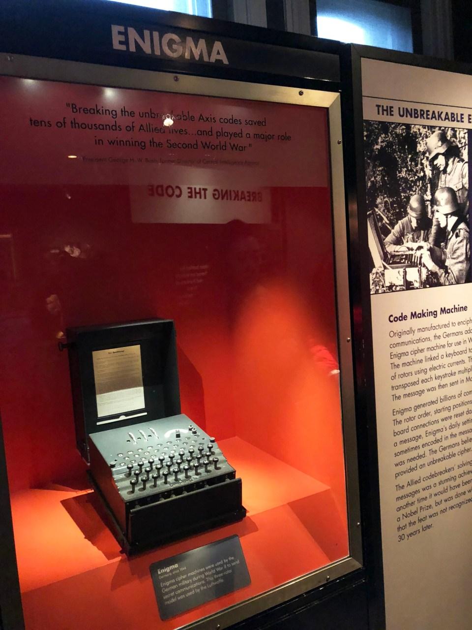 International Spy Museum - Enigma