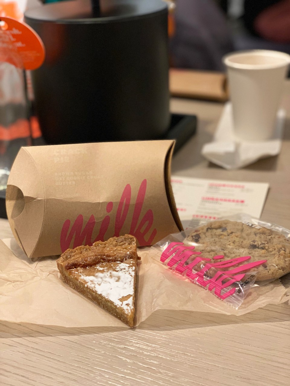 Milk Bar - Crack Pie & Compost Cookie