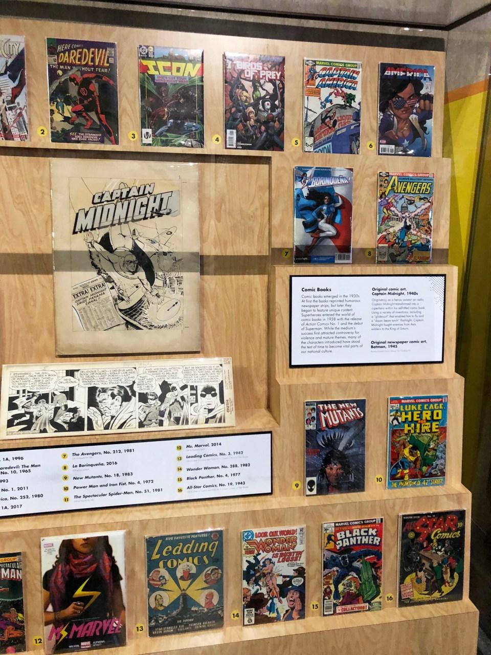 Museum of American History - Superheroes