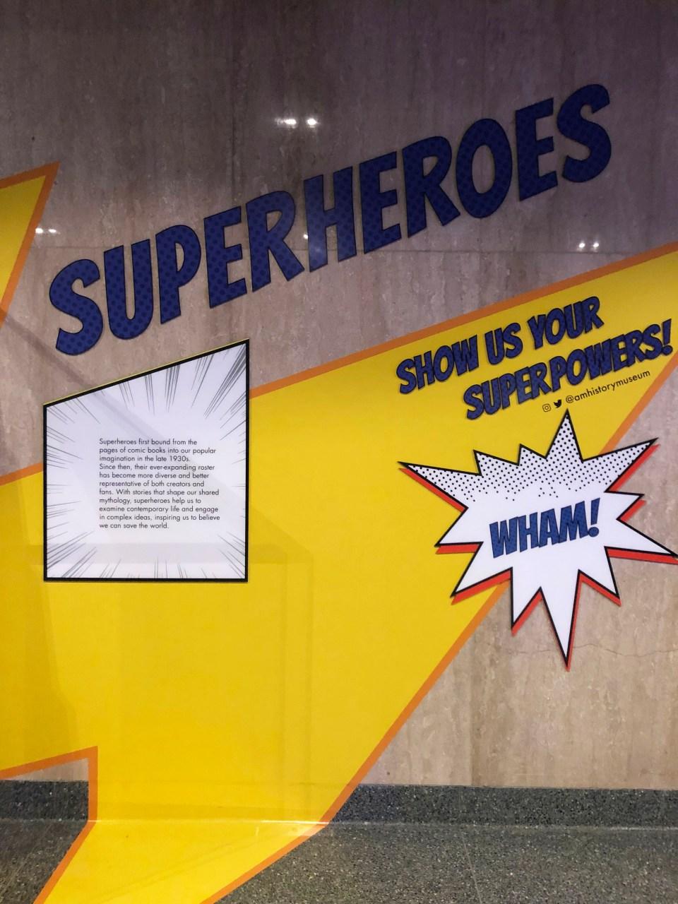 Museum of American History - Superheroes 2