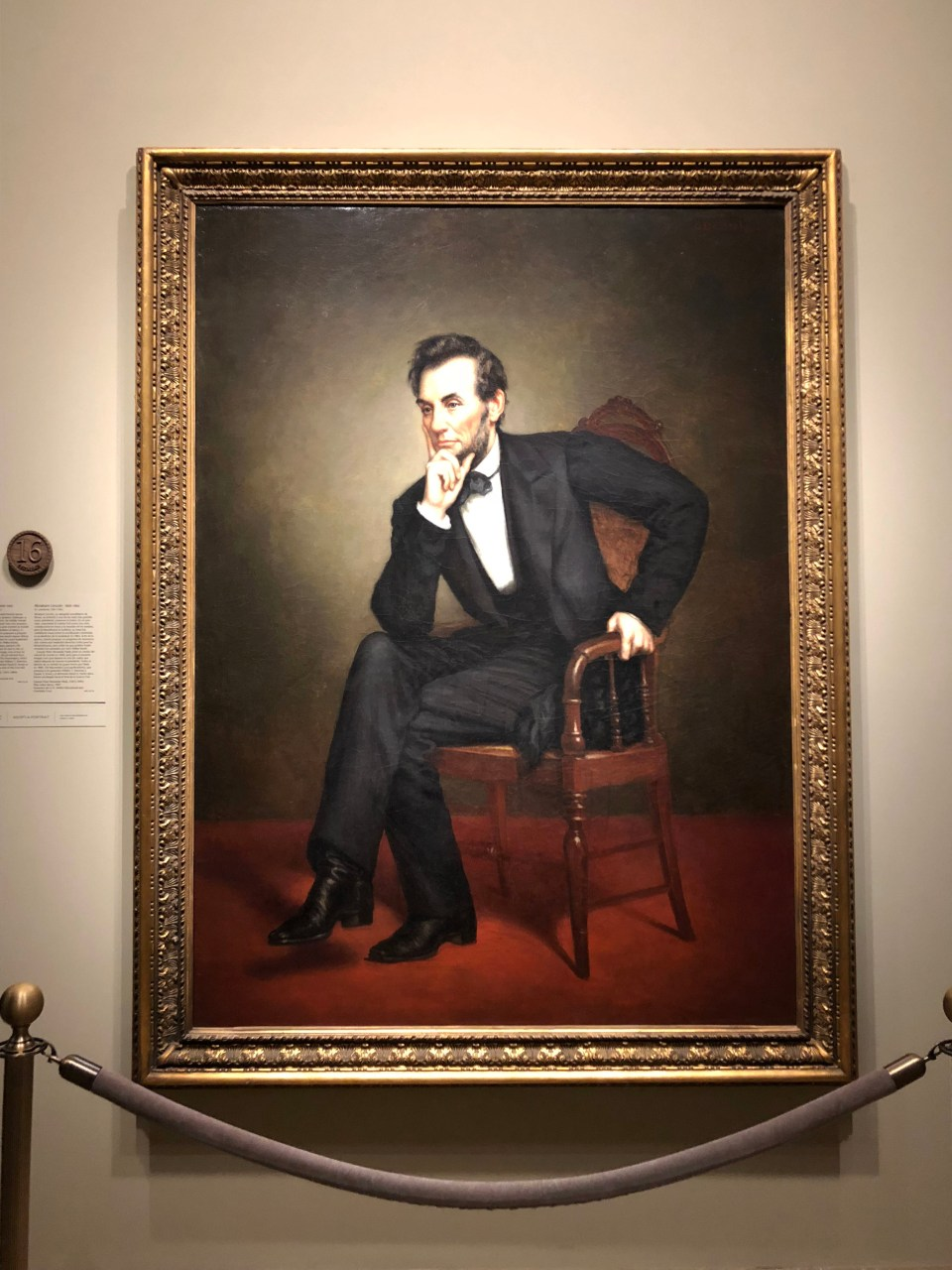 National Portrait Gallery - Abraham Lincoln