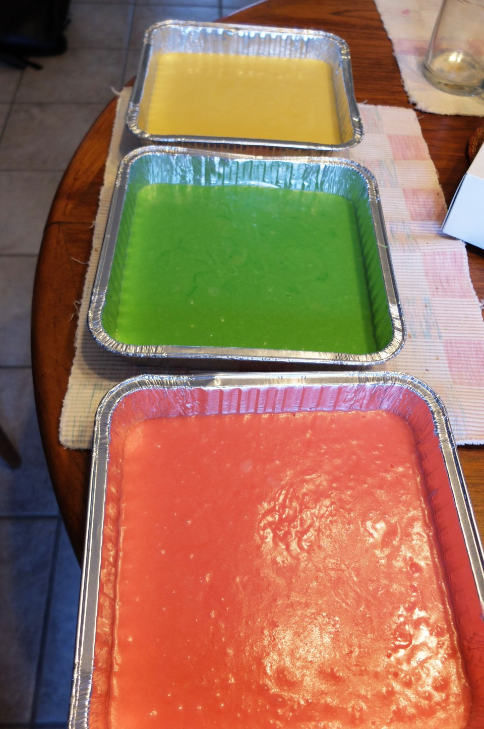 Rainbow Cookie - batter 3