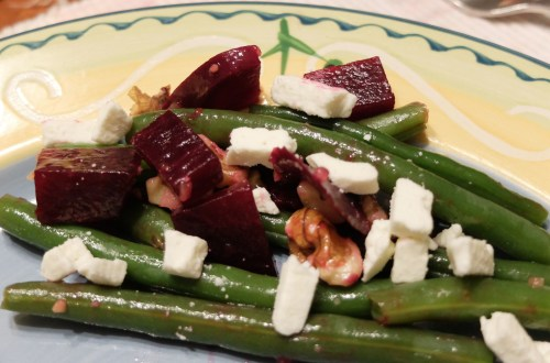 String Bean & Beet Salad